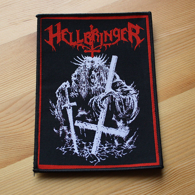 Hellbringer - Sermon of Death (Woven Patch)