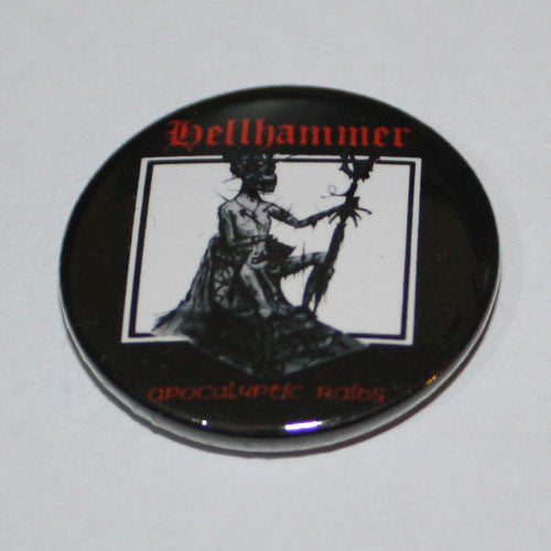 Hellhammer - Apocalyptic Raids (Badge)