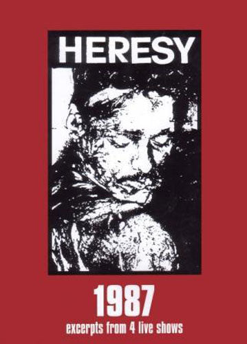 Heresy - 1987 (Excerpts from 4 Live Shows) (DVD)