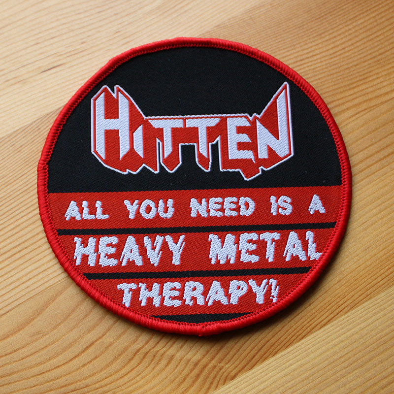 Hitten - All You Need is a Heavy Metal Therapy (Woven Patch)
