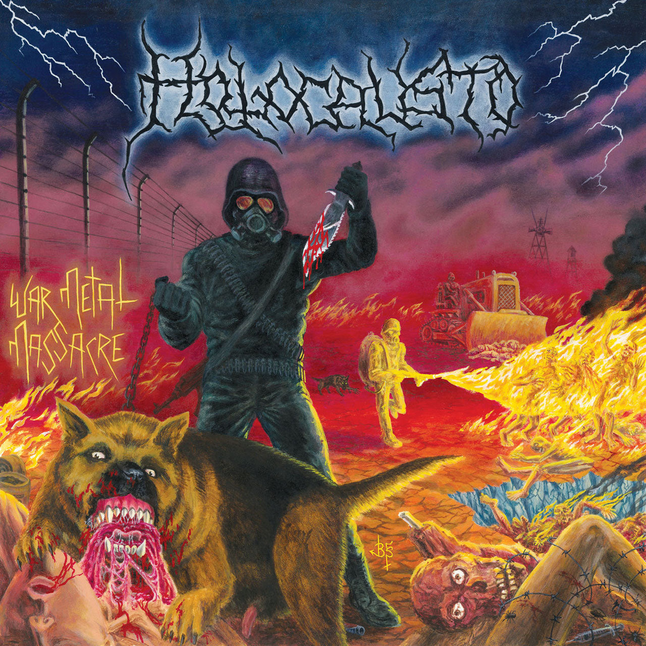 Holocausto - War Metal Massacre (CD)