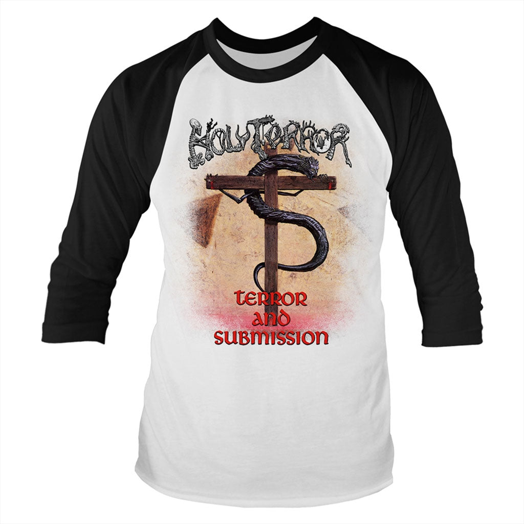 Holy Terror - Terror and Submission (3/4 Sleeve T-Shirt)
