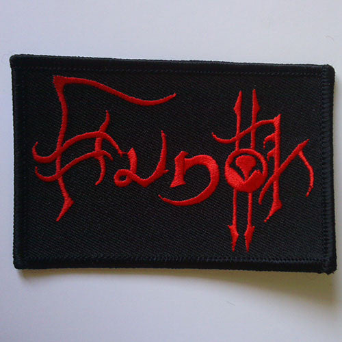 Hunok - Red Logo (Embroidered Patch)