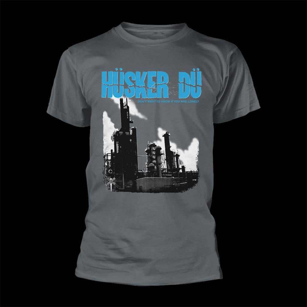 Husker Du - Don't Want to Know If You Are Lonely (Charcoal) (T-Shirt)
