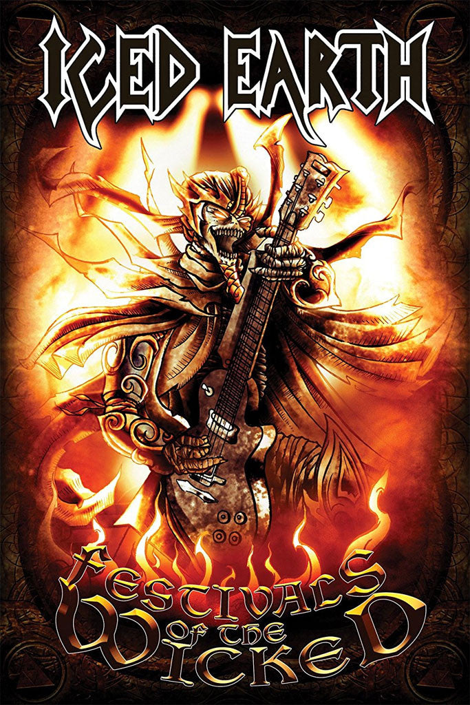 Iced Earth - Festivals of the Wicked (Textile Poster)