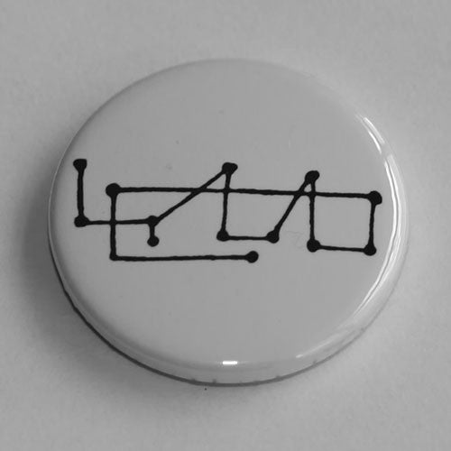 Stravinsky - Glyph (Black) (Badge)
