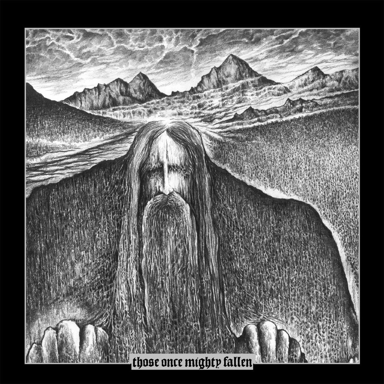 Ildjarn / Hate Forest - Those Once Mighty Fallen (2LP)