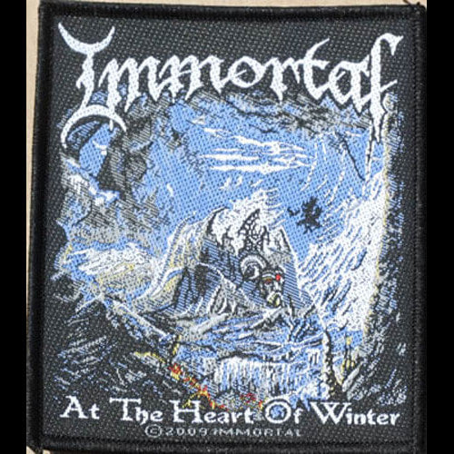 Immortal - At the Heart of Winter (Woven Patch)