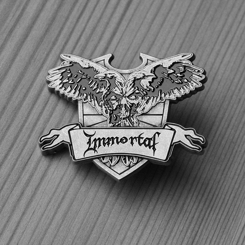 Immortal - Crest (Metal Pin)
