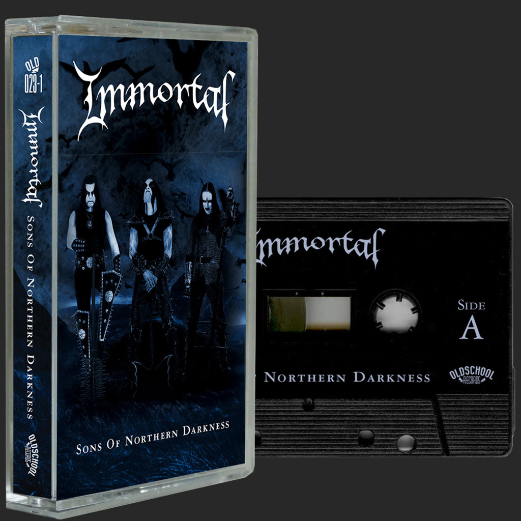 Immortal - Sons of Northern Darkness (2018 Reissue) (Black Edition) (Cassette)