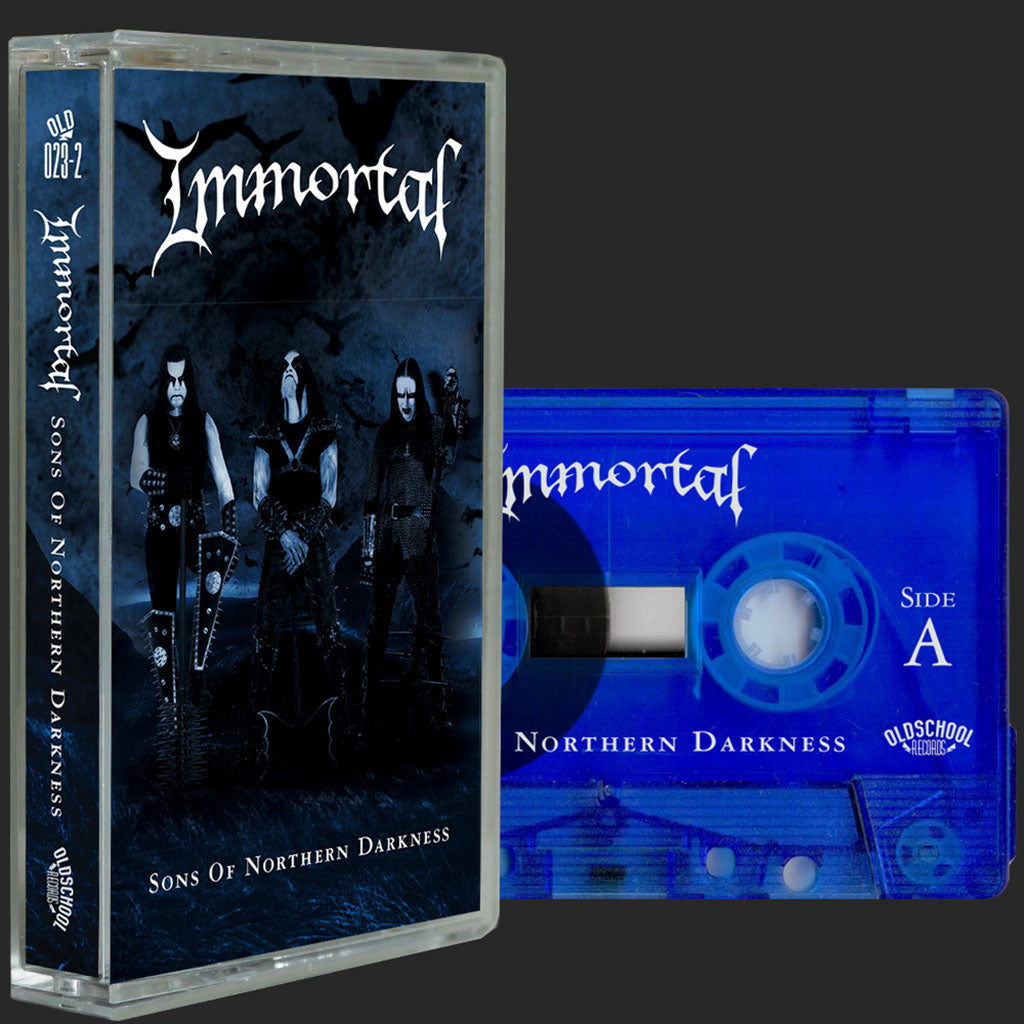 Immortal - Sons of Northern Darkness (2018 Reissue) (Blue Edition) (Cassette)