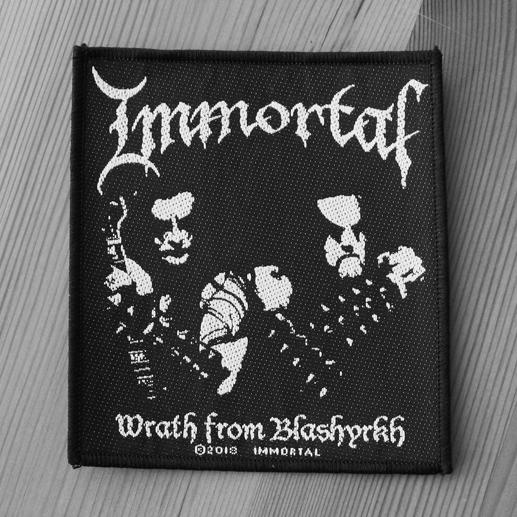 Immortal - Wrath from Blashyrkh (Woven Patch)