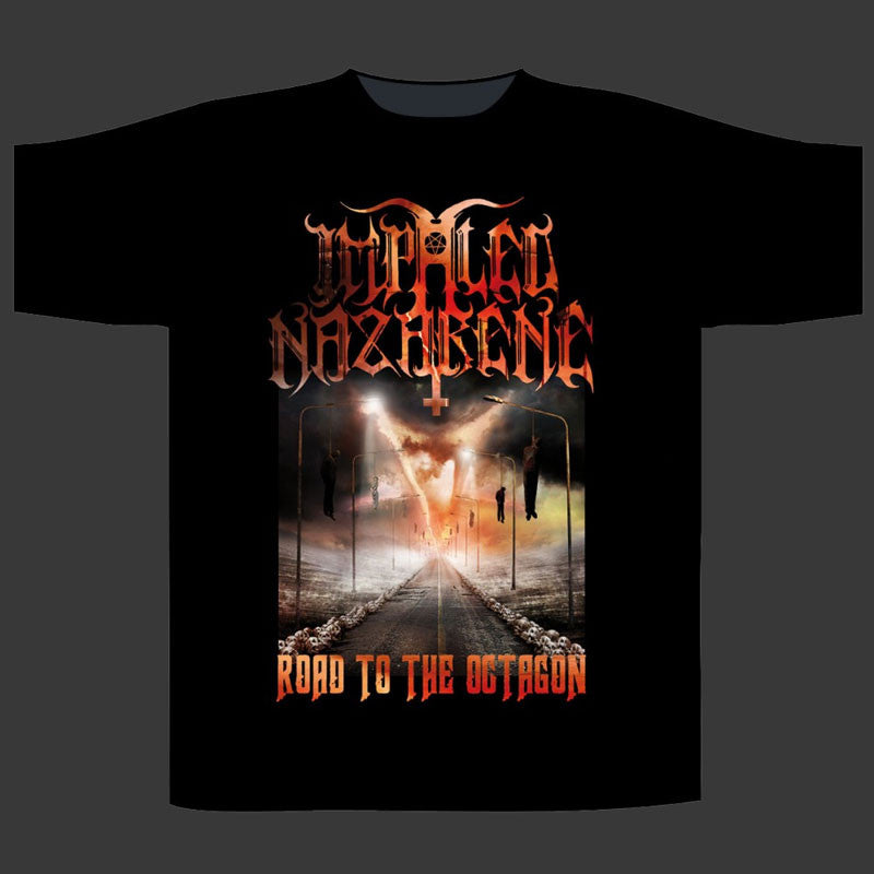 Impaled Nazarene - Road to the Octagon (T-Shirt)
