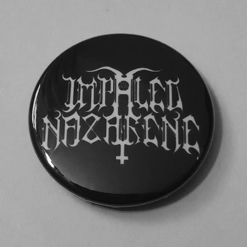 Impaled Nazarene - White Logo (Badge)