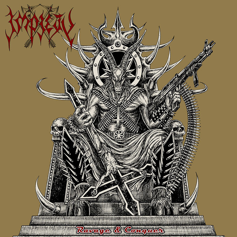 Impiety - Ravage & Conquer (CD)