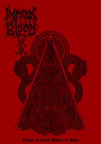 Impious Blood - Temple of Flesh, Pillars of Bones (2015 Reissue) (Cassette)