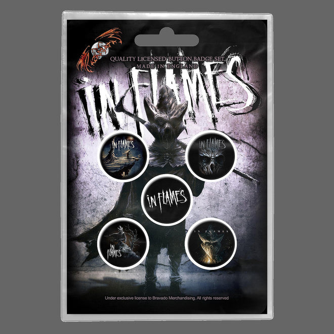 In Flames - The Mask (Badge Pack)
