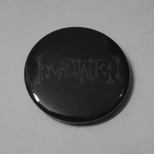 Incantation - Grey Logo (Badge)
