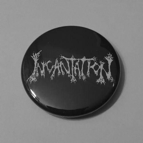 Incantation - White Logo (Badge)