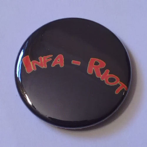 Infa Riot - Red Logo (Badge)