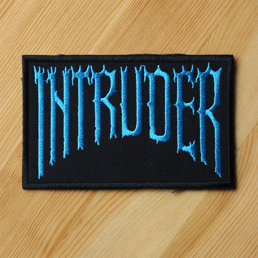 Intruder - Blue Logo (Embroidered Patch)