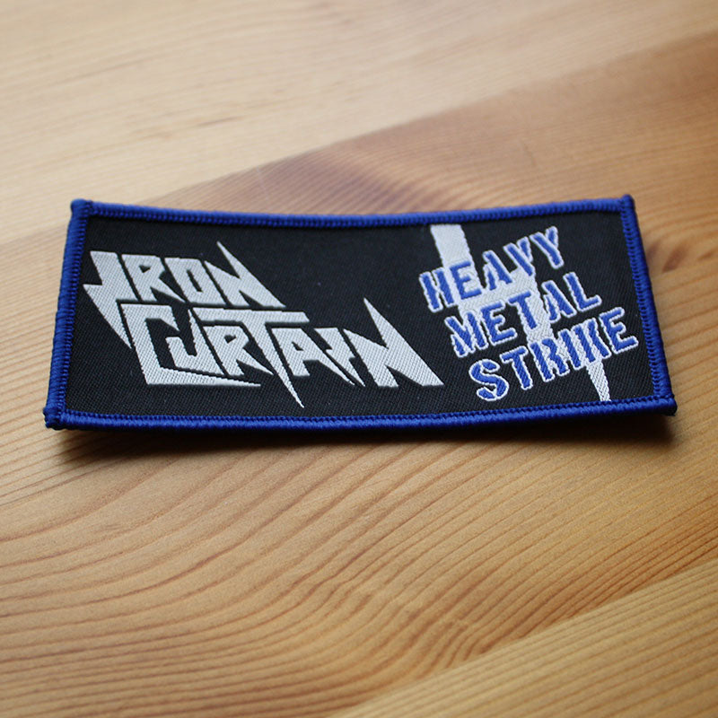 Iron Curtain - Heavy Metal Strike (Woven Patch)