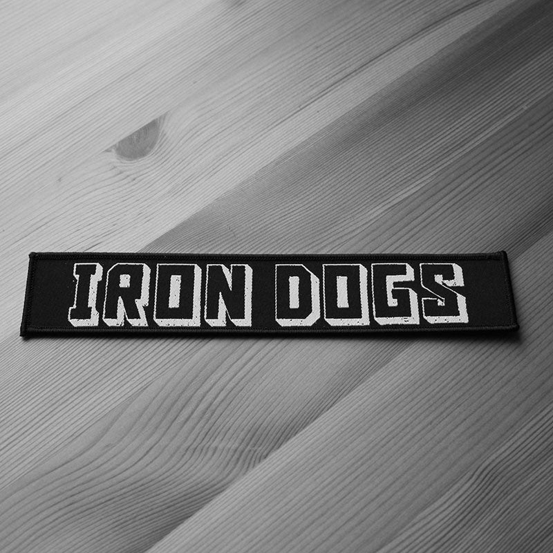 Iron Dogs - Logo (Woven Patch)