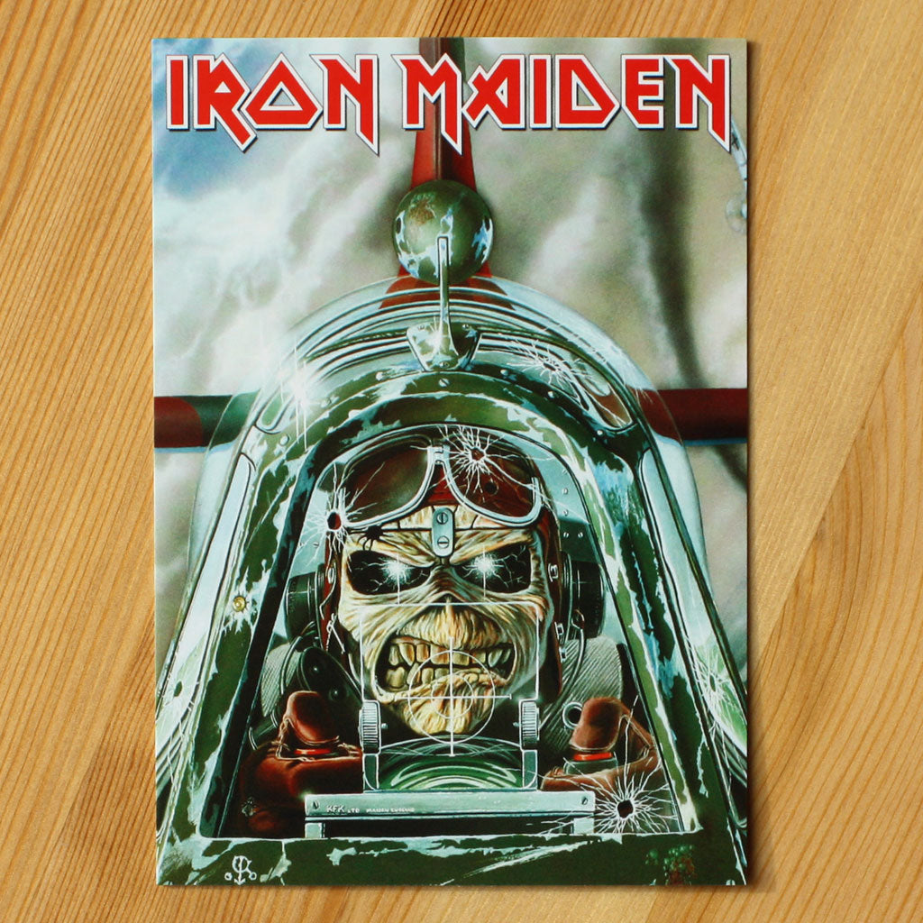 Iron Maiden - Aces High (Postcard)