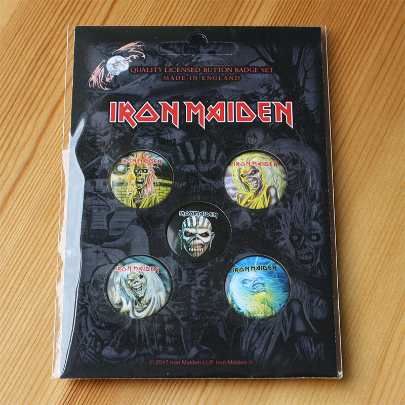 Iron Maiden - Eddie (Badge Pack)