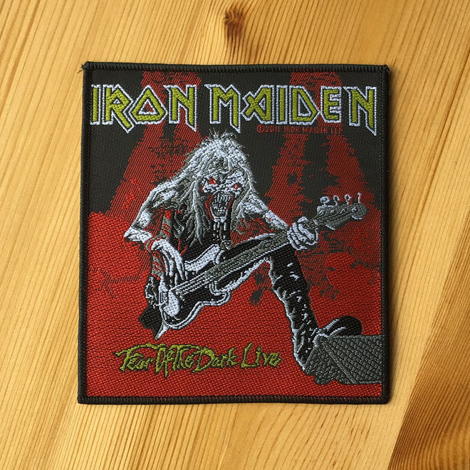 Iron Maiden - Fear of the Dark Live (Woven Patch)