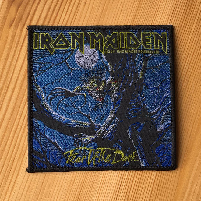 Iron Maiden - Fear of the Dark (Woven Patch)