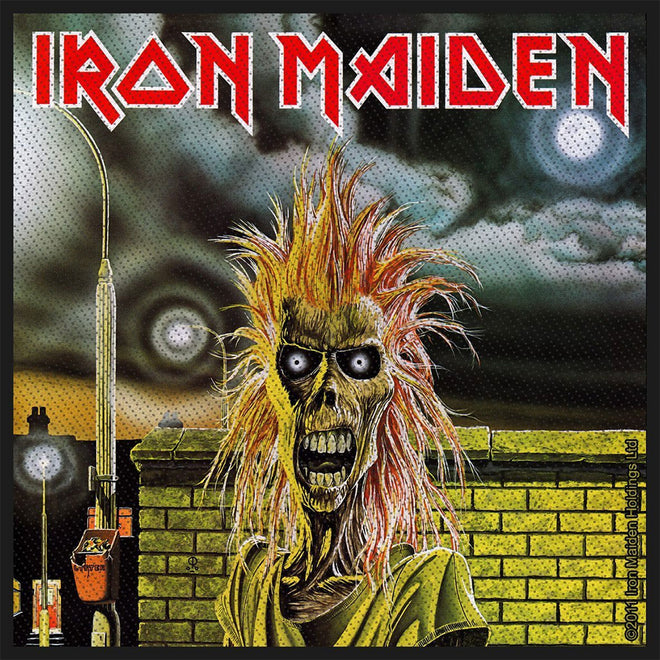 Iron Maiden - Iron Maiden (Woven Patch)