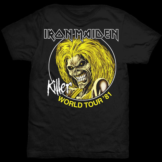 Iron Maiden - Killer World Tour 81 (T-Shirt)