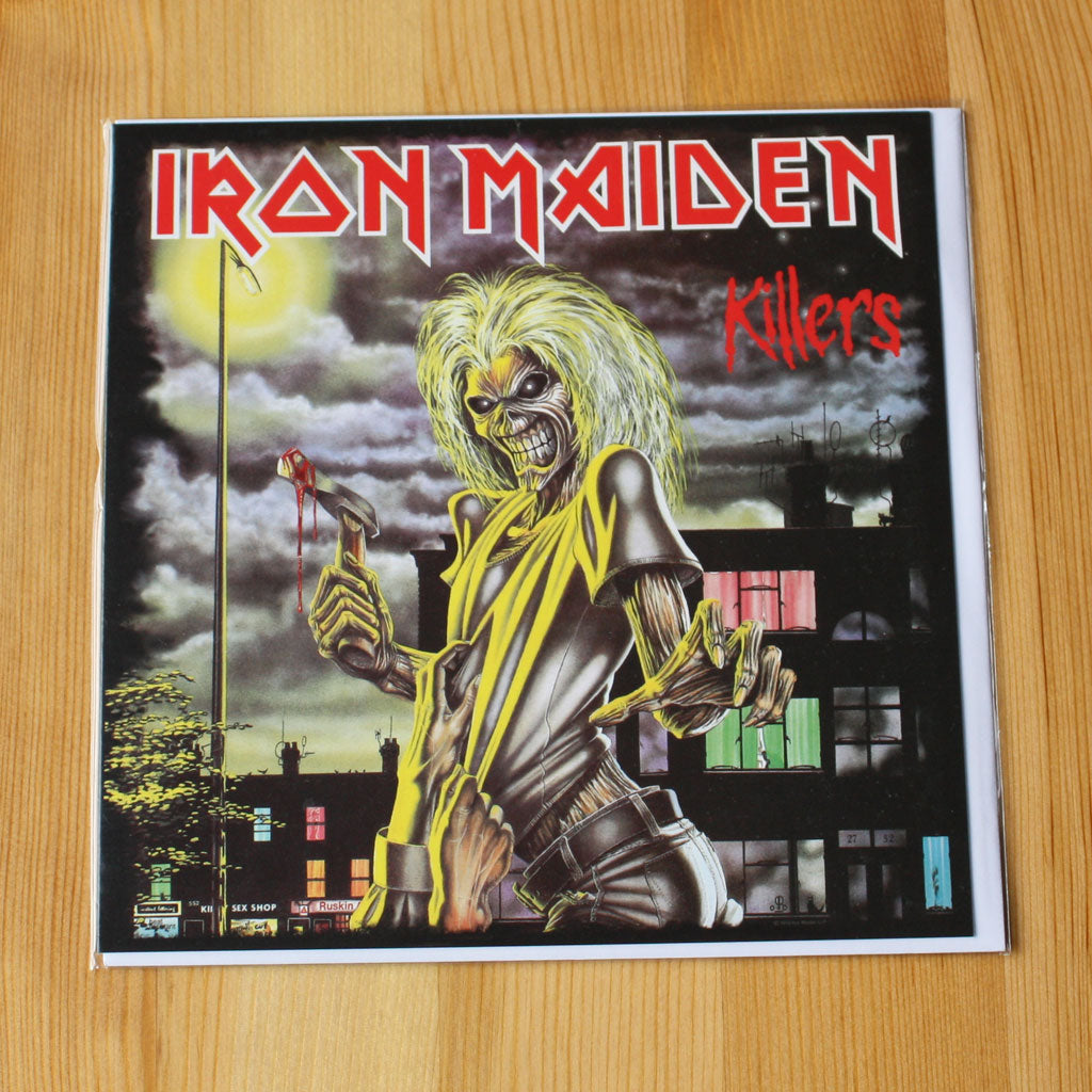 Iron Maiden - Killers (Greetings Card)
