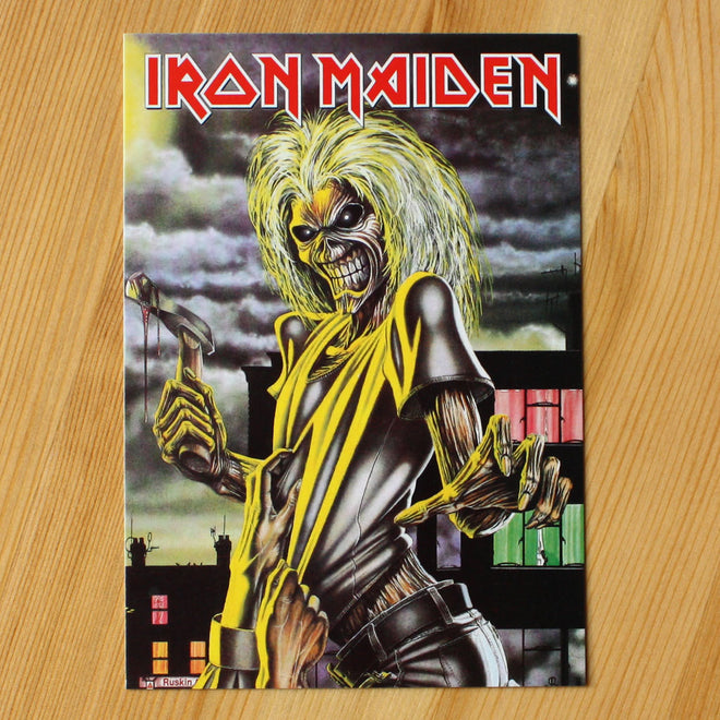 Iron Maiden - Killers (Postcard)