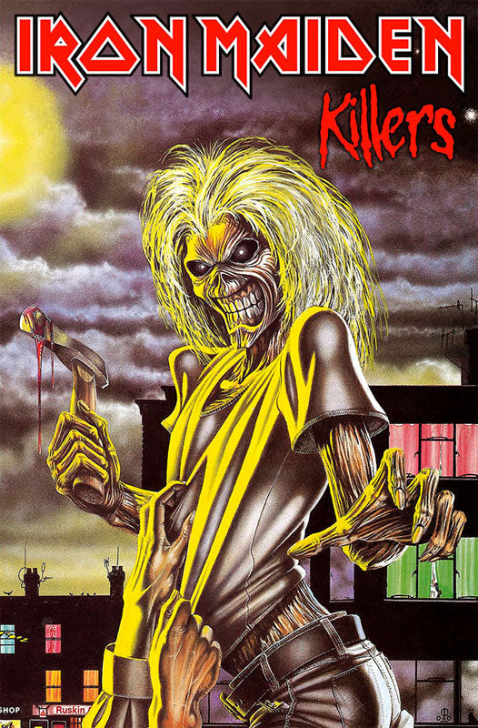 Iron Maiden - Killers (Textile Poster)