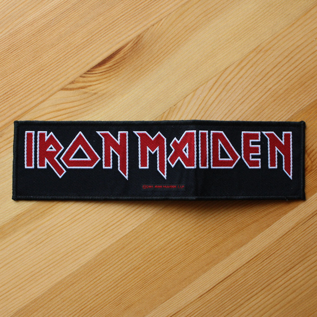 Iron Maiden - Logo (Superstrip) (Woven Patch)