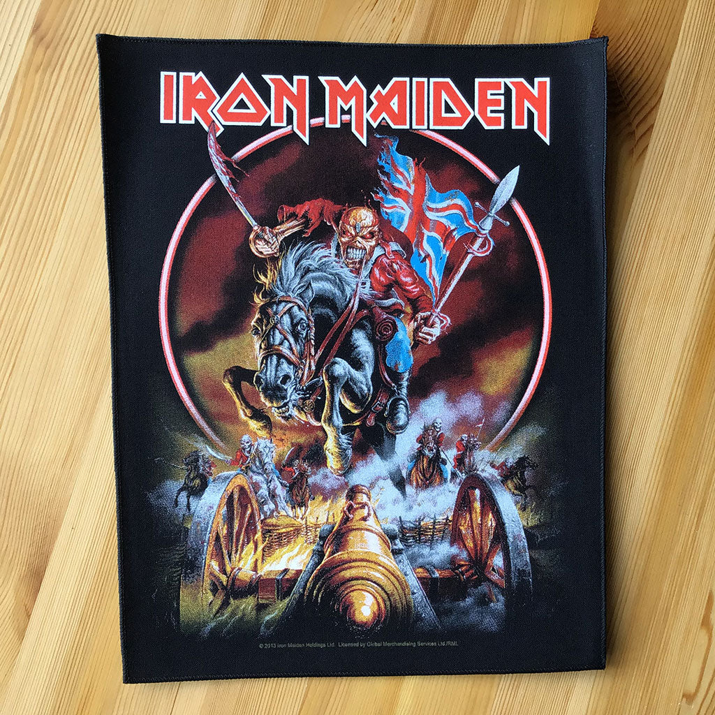 Iron Maiden - Maiden England (Backpatch)