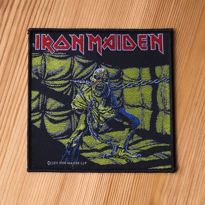 Iron Maiden - Piece of Mind (Woven Patch)