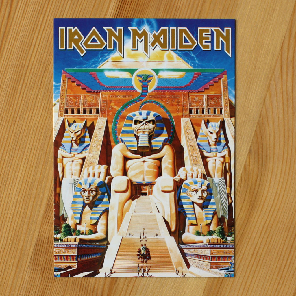 Iron Maiden - Powerslave (Postcard)