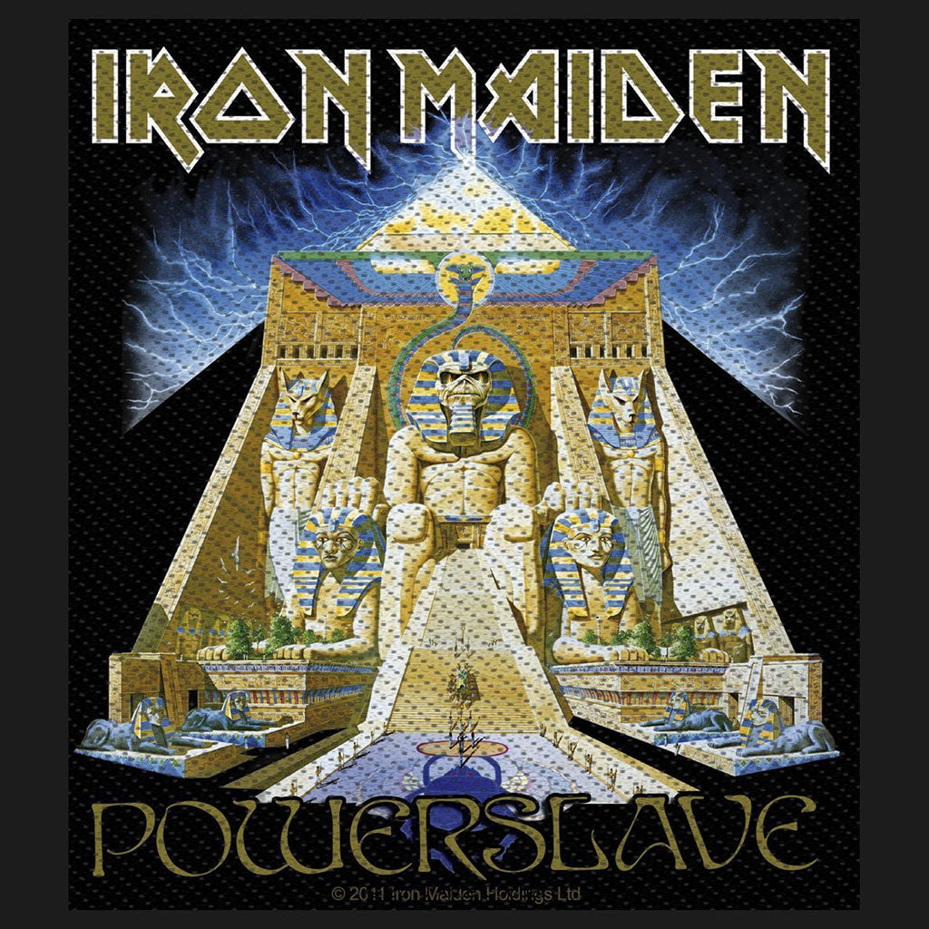 Iron Maiden - Powerslave (Woven Patch)