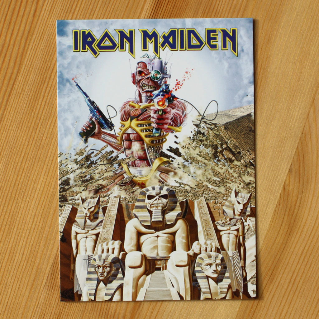 Iron Maiden - Somewhere Back in Time (Postcard)