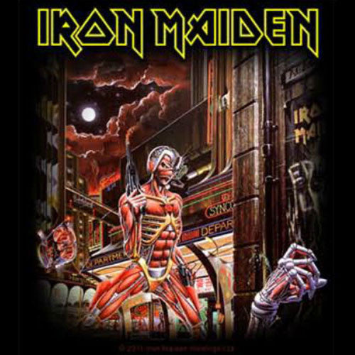 Iron Maiden - Somewhere in Time (Sticker)