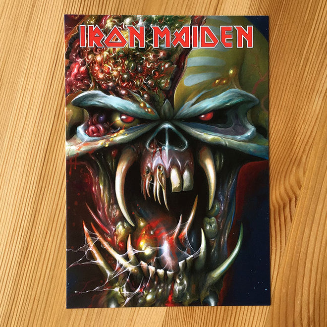Iron Maiden - The Final Frontier (Postcard)