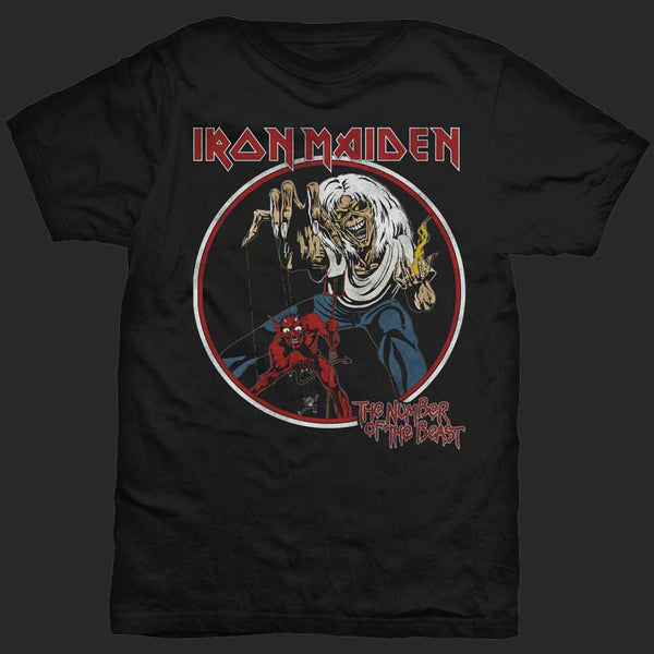4fca6bdd5063 Iron Maiden - The Number of the Beast (Circle) (T-Shirt)   Todestrieb