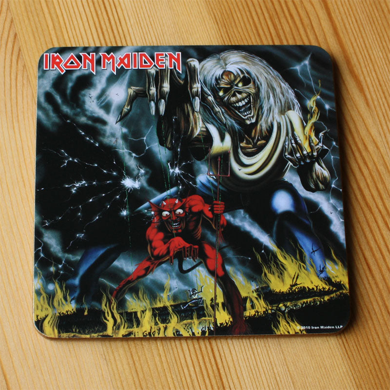 Iron Maiden - The Number of the Beast (Coaster)