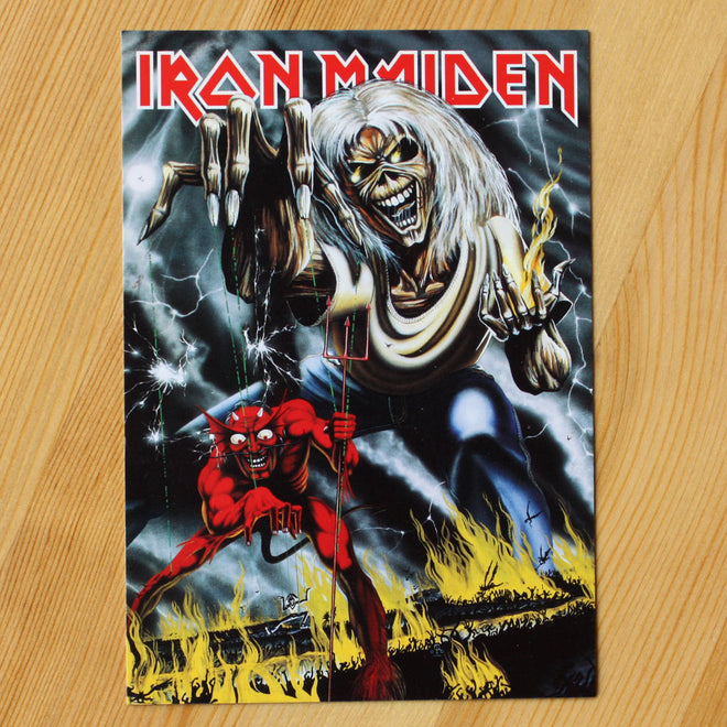 Iron Maiden - The Number of the Beast (Postcard)