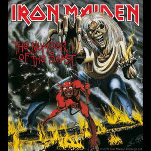 Iron Maiden - The Number of the Beast (Sticker)