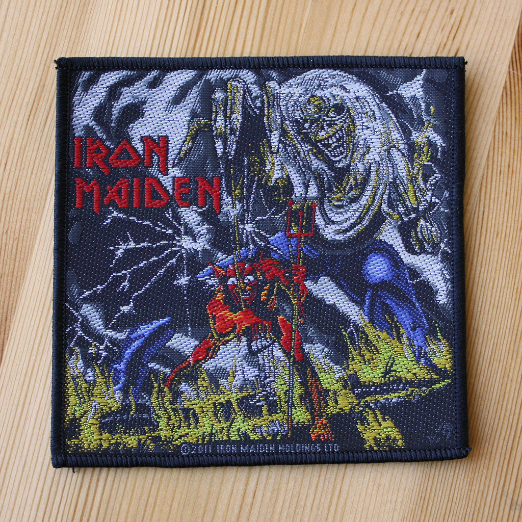 Iron Maiden - The Number of the Beast (Woven Patch)