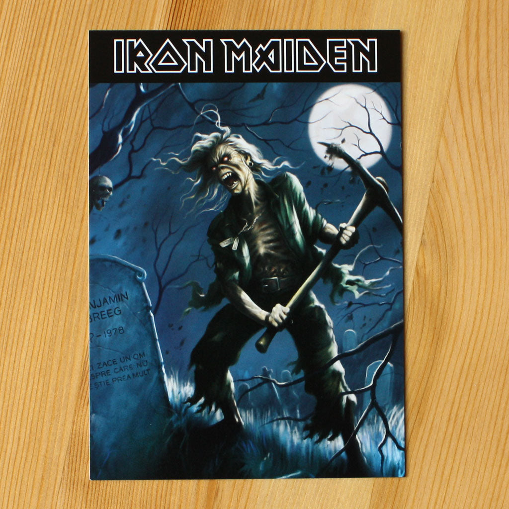 Iron Maiden - The Reincarnation of Benjamin Breeg (Postcard)